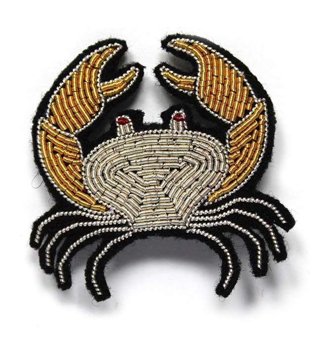 купите эффектное украшение от Macon&Lesquoy - Crab brooch