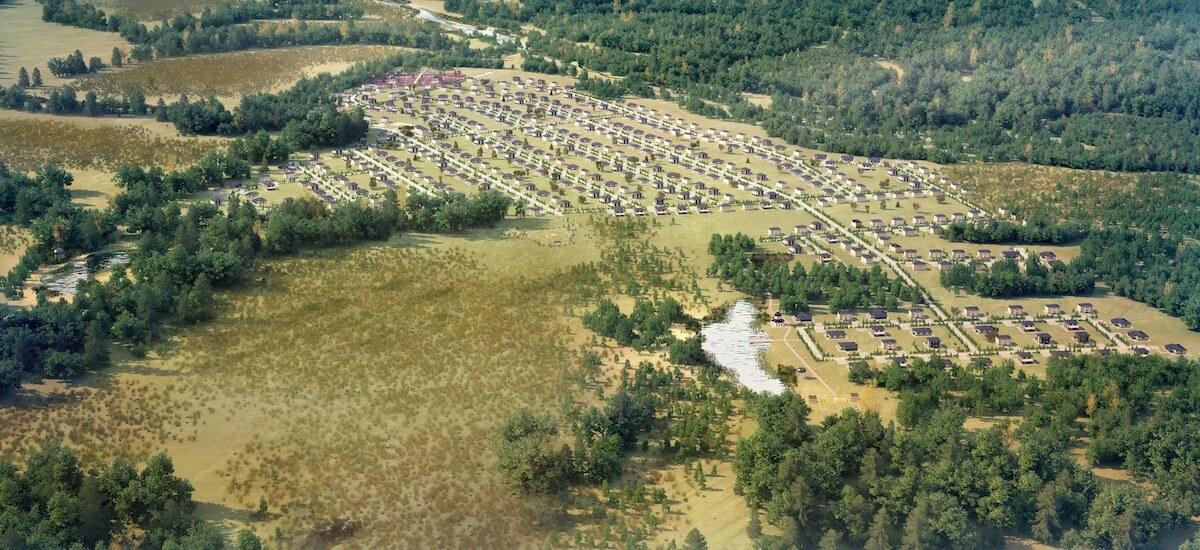 «Романовский Парк» окружен лесным массивом