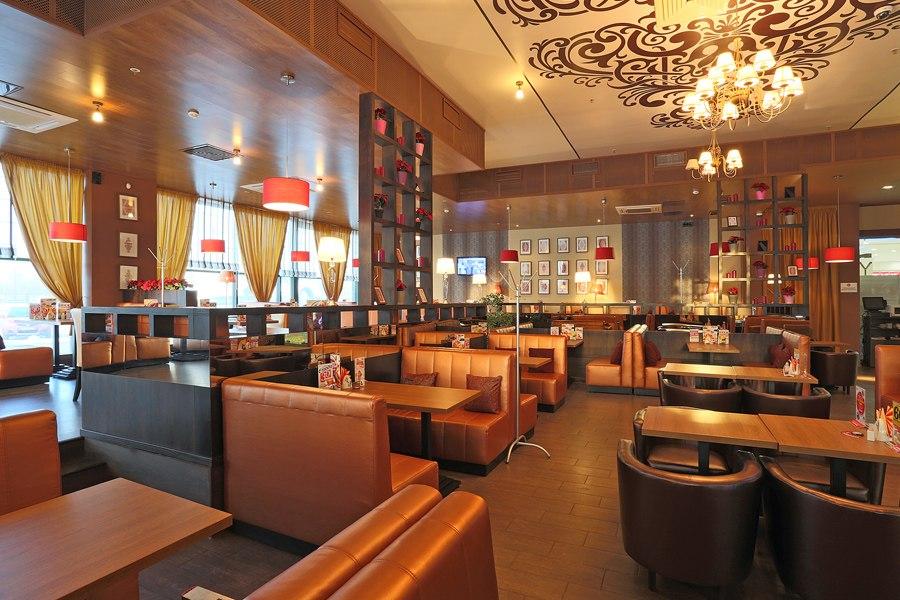 Сеть ресторанов и суши-баров Евразия