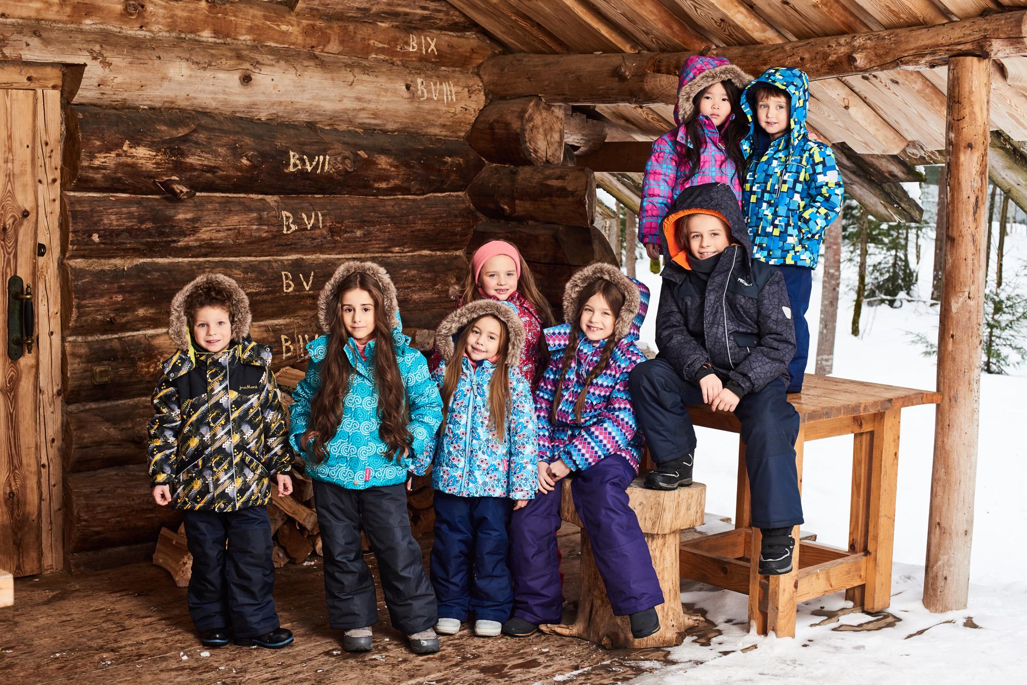 Детские зимние комплекты Premont