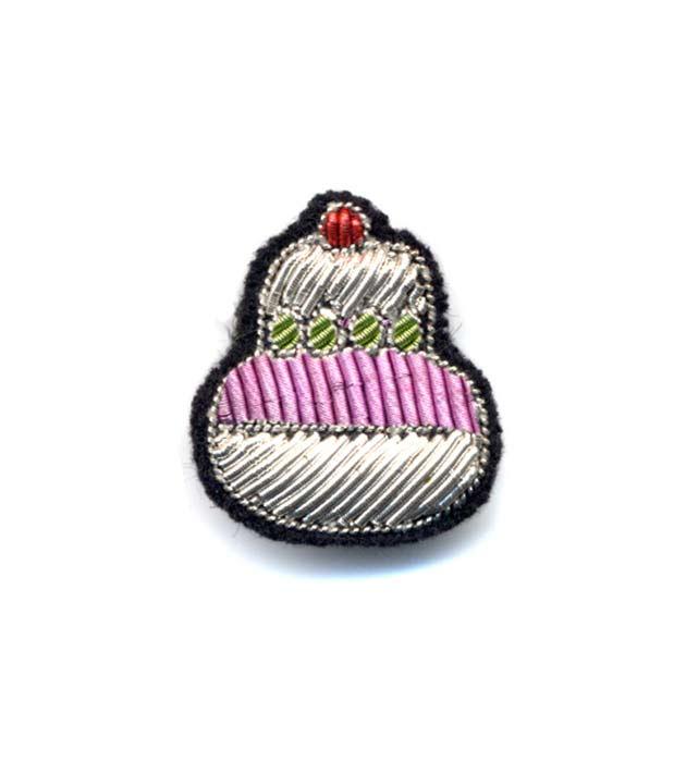 купите необычная брошь от французского бренда Macon&Lesquoy - Cupcake pin