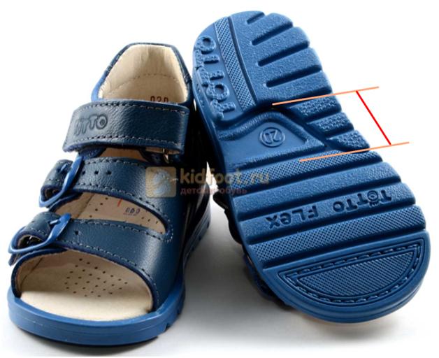 Каблук Томаса в детской обуви Тотто