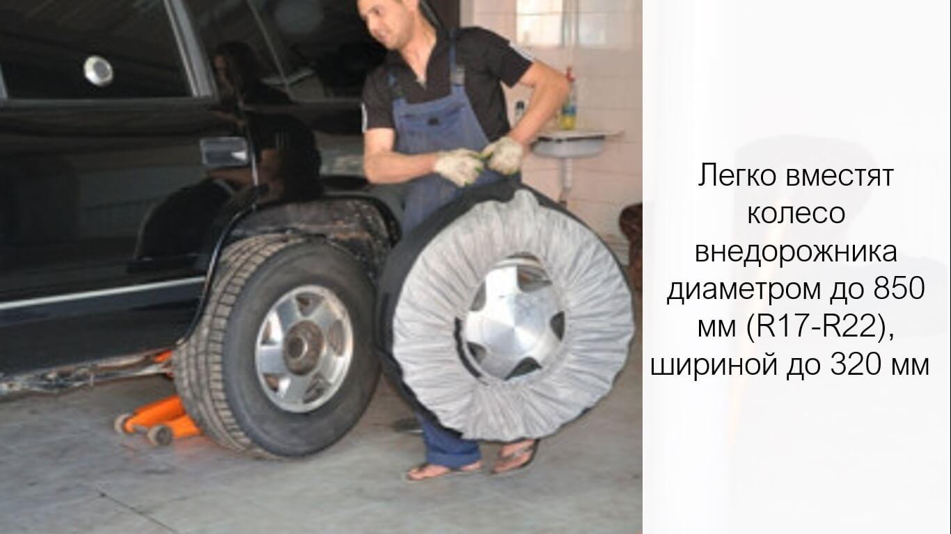 Чехлы для хранения больших колес