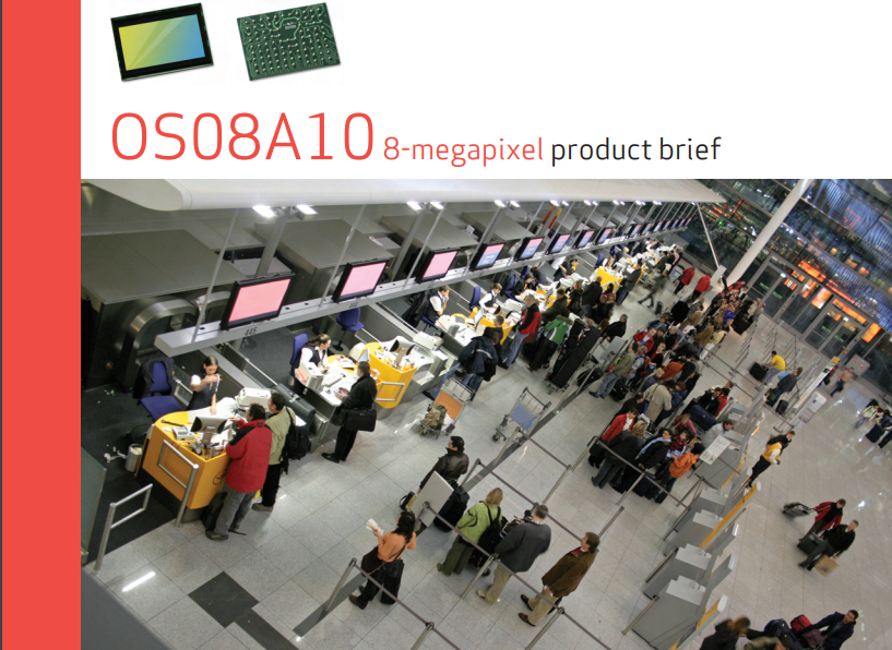 Сенсор изображения OV OSO8A10