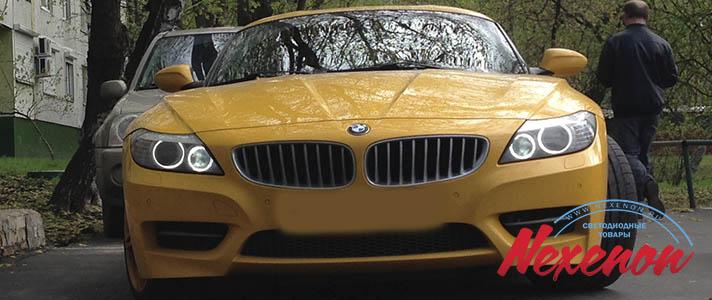 Светодиодные лампы в BMW Z4