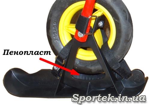 Лыжи на 10 дюмовые колеса беговела
