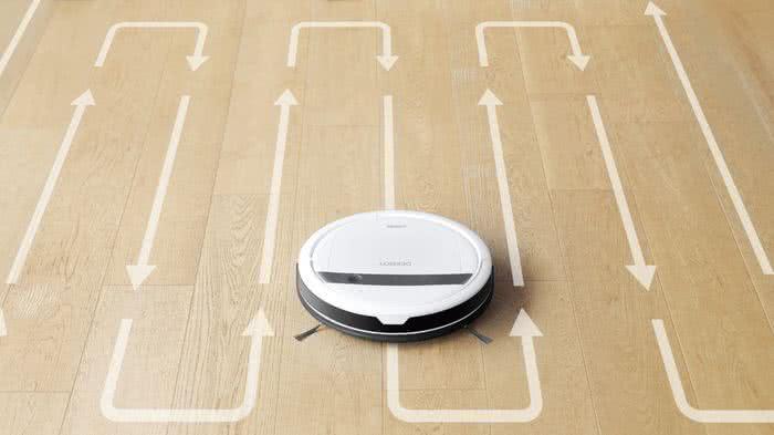 Улучшенная технология траектории уборки deebot dm88