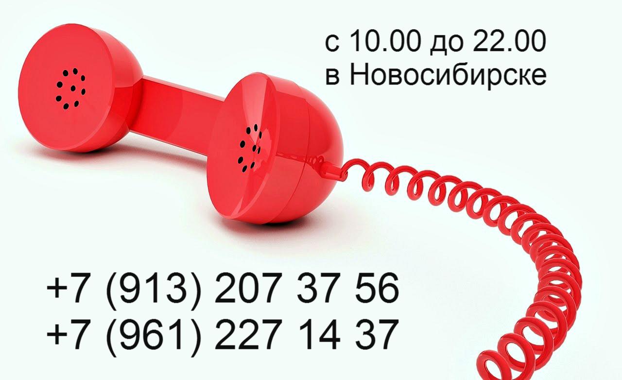 Заказ по телефону в Новосибирске
