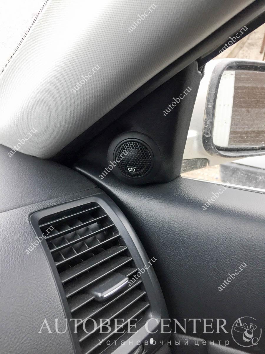 Honda Accord (подиумы под ВЧ)