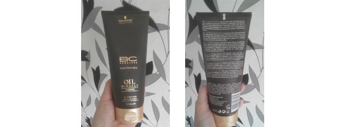 Фотообзор Schwarzkopf Bonacure Oil Miracle Shampoo - Шампунь с аргановым маслом