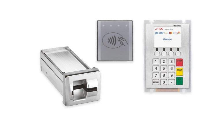 Элементы эквайрингового терминала для торговых автоматов