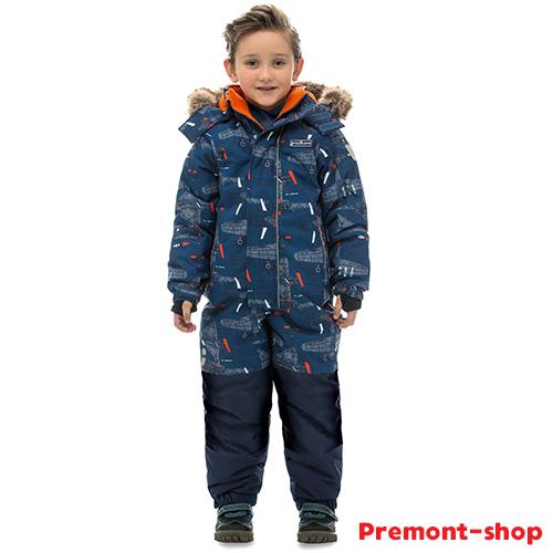Зимний комбинезон для мальчика Premont Первый полет Бомбардье Sport
