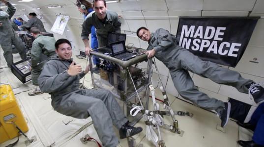 3D-принтер на космической орбитальной станции NASA
