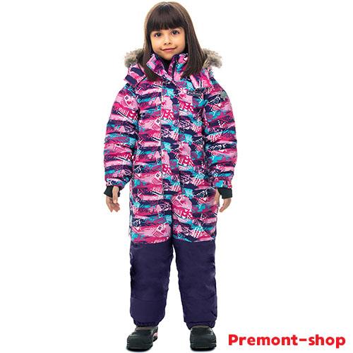 Зимний комбинезон для девочки Premont Северное сияние Юкона Sport
