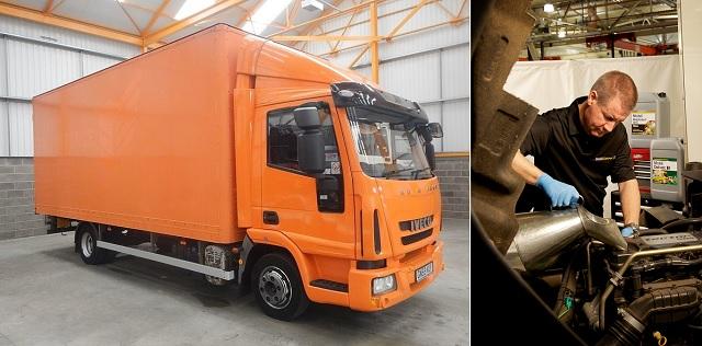 грузовик в тестах IVECO EUROCARGO 75E