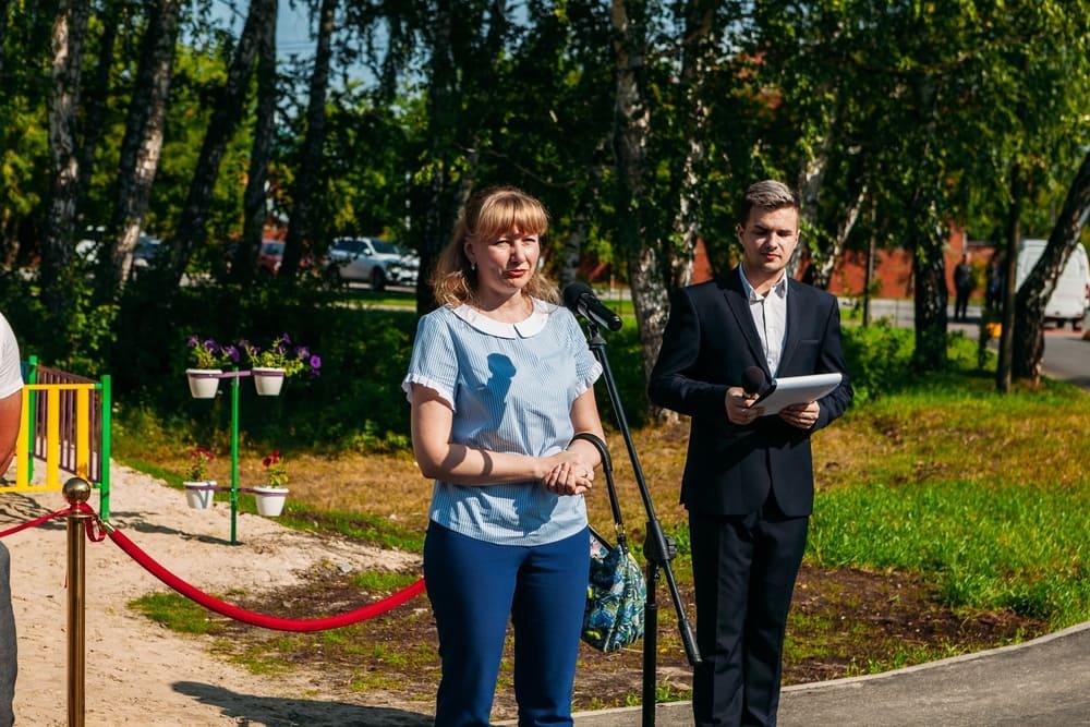 Открытие общественной метеоплощадки Умничка