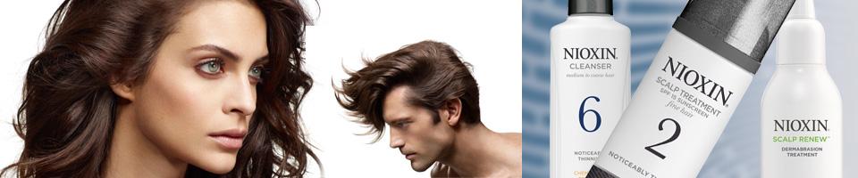 Nioxin Инновационный уход за тонкими и редеющими волосами