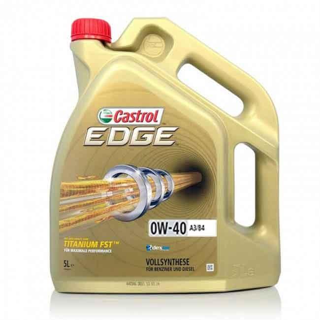 Castrol edge 0w40 titanium FST