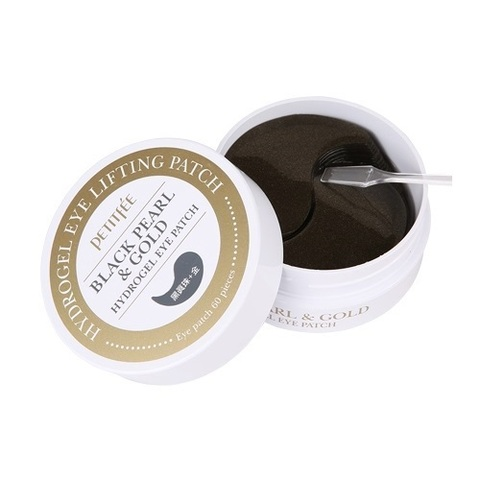 Petitfee Black Pearl&Gold Hydrogel Eye Patch