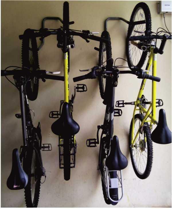 крепление велосипеда для колясочных комнат