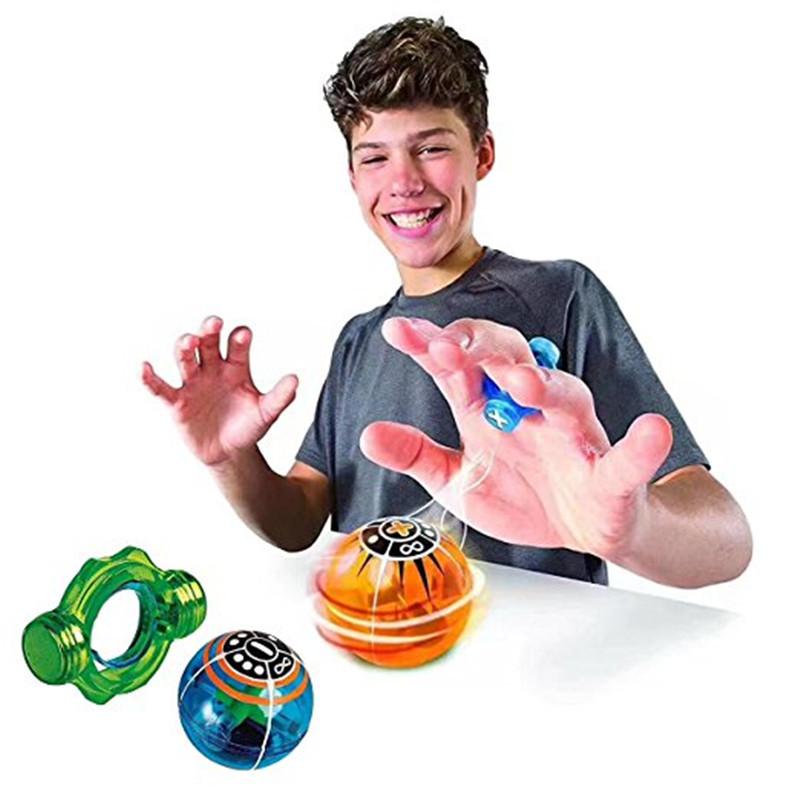 Спиннер Speed Magneto Spheres с кольцом