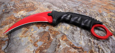 купить CS GO Karambit Red