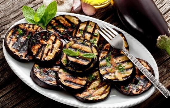 Салат из баклажан на гриле
