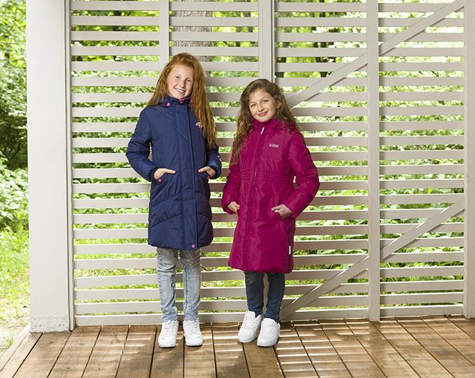 Пальто Premont Сердце океана и Королевский пион для девочек S18164 и S1863