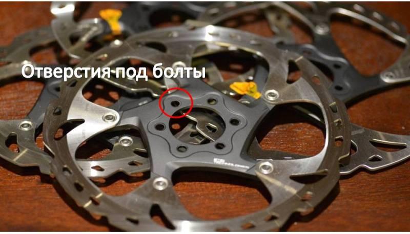 тормозной ротор под 6 болтов