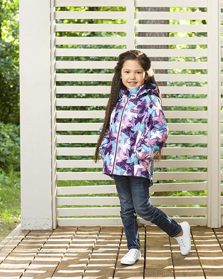 Ветровка Premont Нежный Оксалис S18183 для девочек