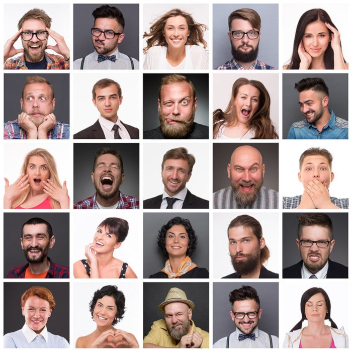 Типы эмоций у клиентов салона красоты