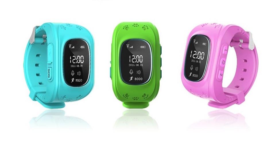 Детские часы с родительским контролем Q50