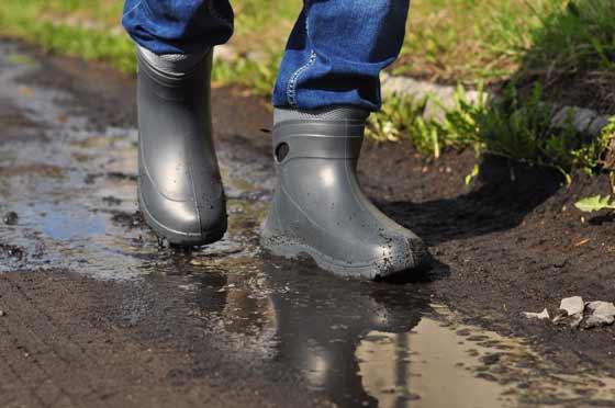 Мужские резиновые ботинки из ЭВА Nordman Fit