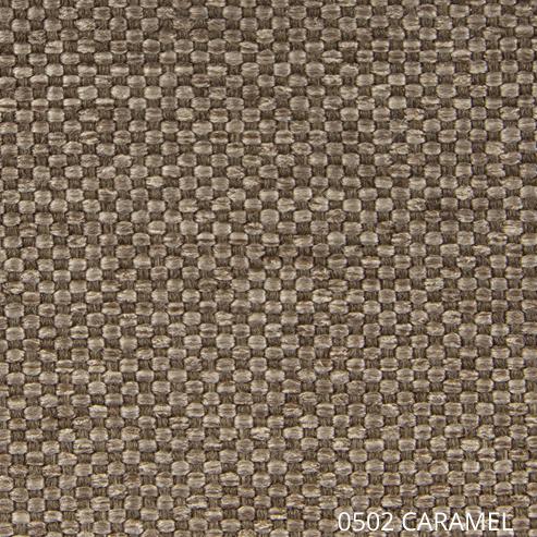 ткань Азур - цвет карамель