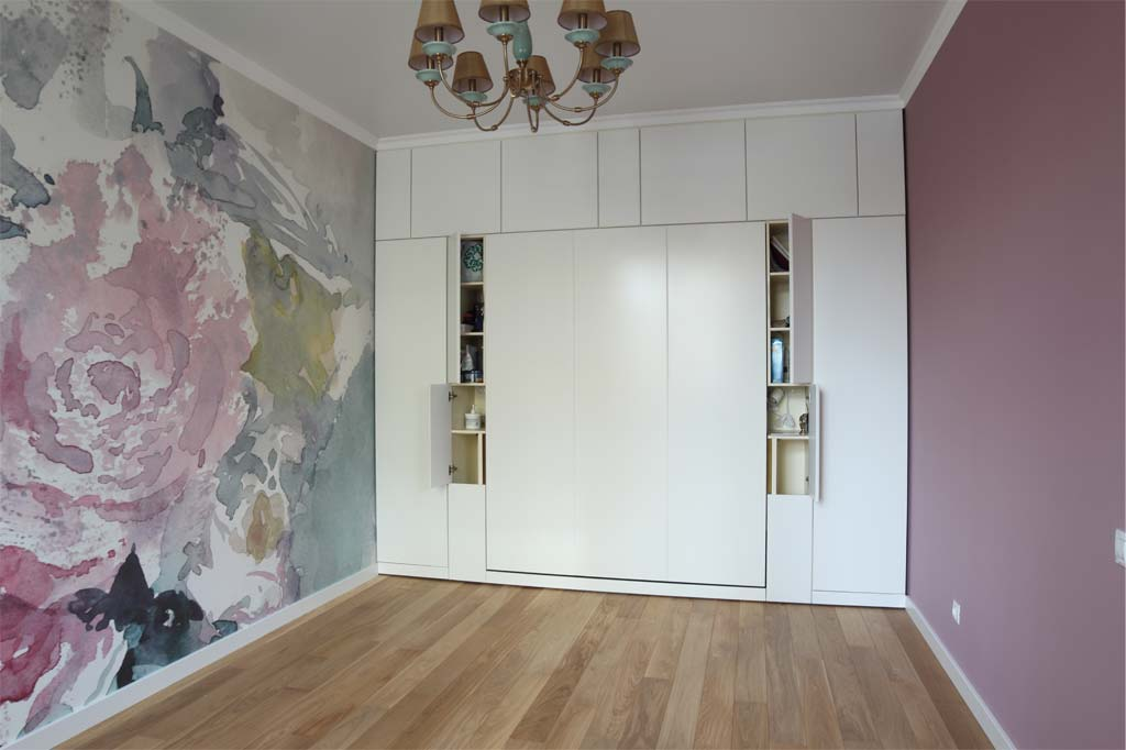 Шкаф-кровать Глория под потолок