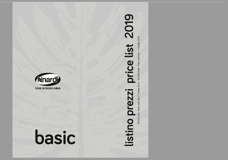 NARDI Listino2019 basic
