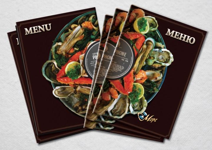 Обложка меню ресторана должна стимулировать клиента к заказу