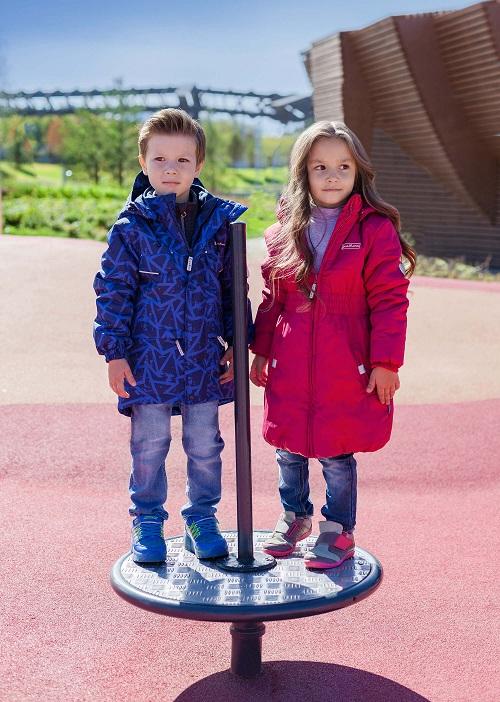 Демисезонное пальто Premont для девочек Канадский плющ в магазине Premont-shop
