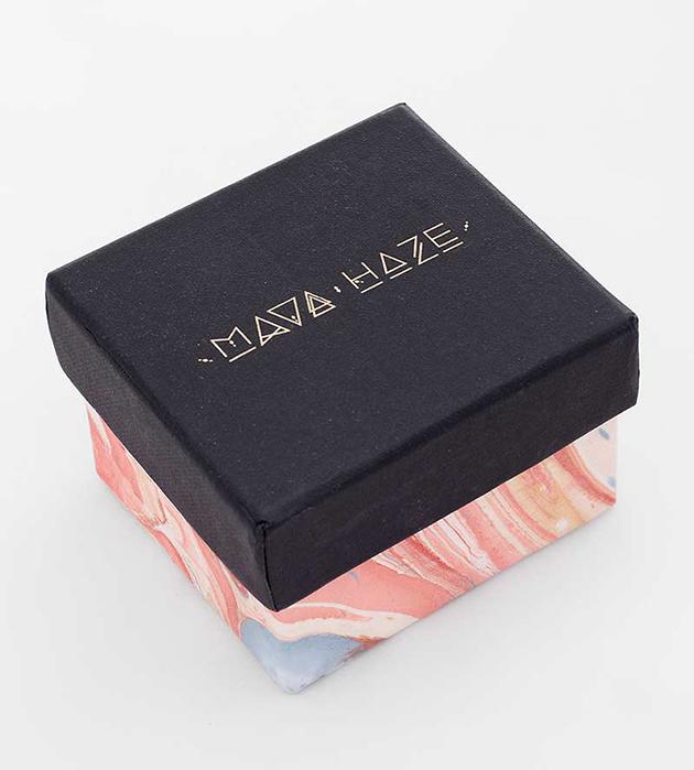 купите золотой браслет-манжет  с аметистами и малахитом  Ilgaak Cuff от MAVA HAZE