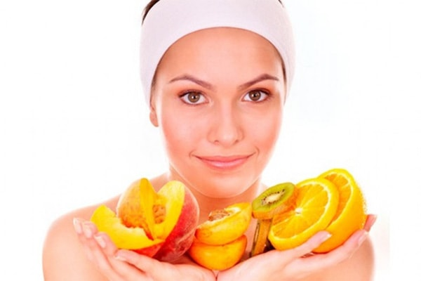 Летние маски для лица из фруктов и овощей.