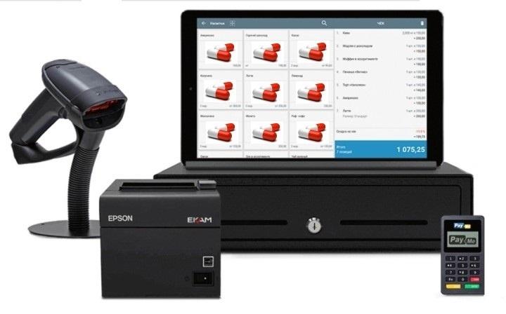 Онлайн-касса с сенсорным экраном ускоряет обслуживание клиентов