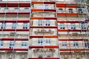 Пример Реставрация здания в центре Москвы
