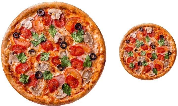 Размер пиццы имеет значение как для клиента, так и для ресторана