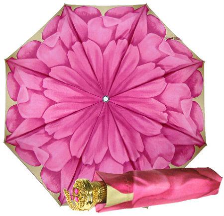 Pasotti пион складной женский зонтик полный автомат