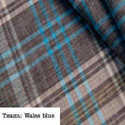 Ткань: Wales blue