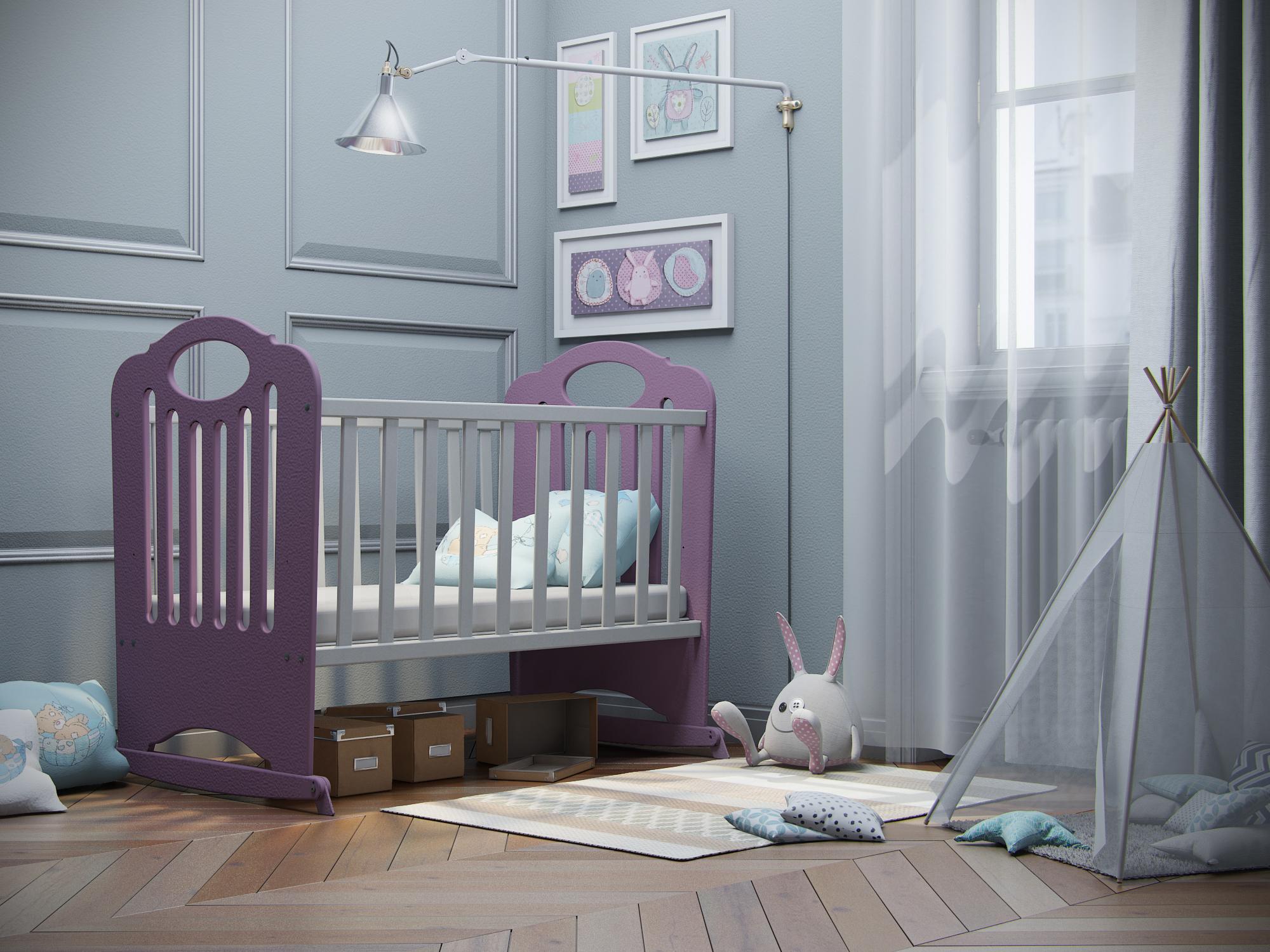 Кроватка-качалка Феалта-baby Сказка