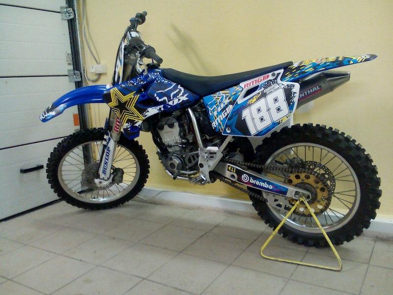 Комплект наклеек для кроссового мотоцикла YAMAHA