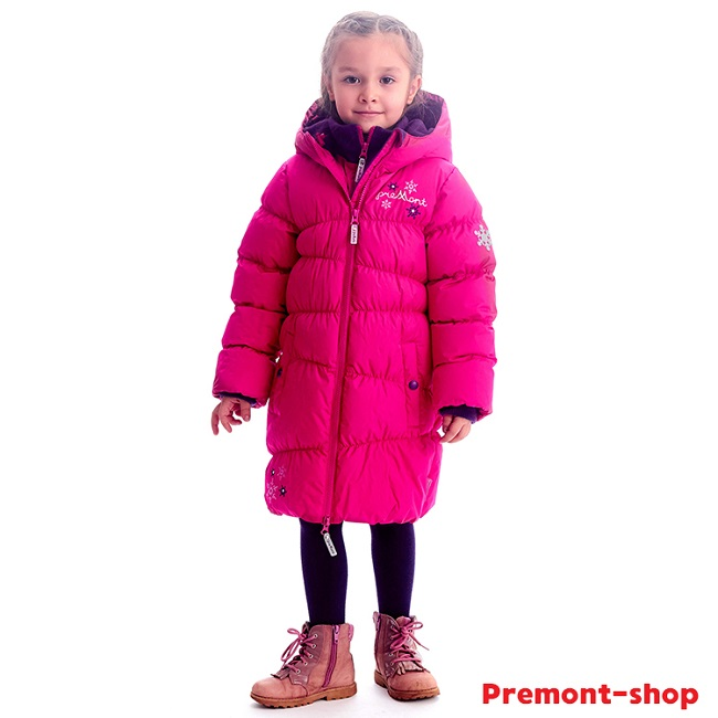 Пальто Premont Клубничный Пудинг WP91351 для девочек в магазине Premont-shop