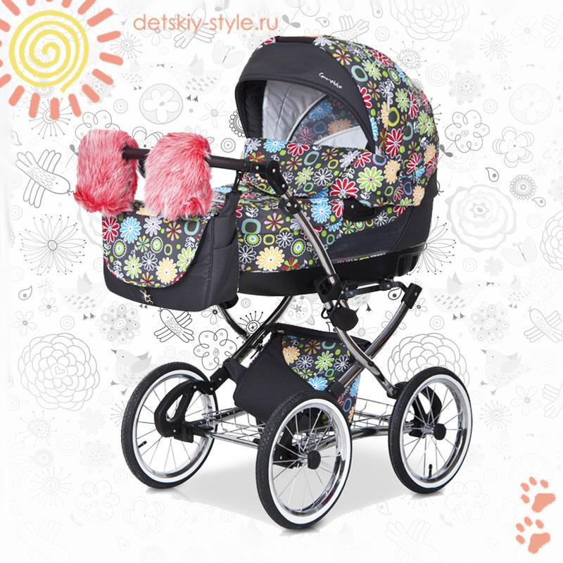 коляска сaretto michelle color 2в1, купить, цена, детская коляска каретто color, 2в1, заказ, заказать, стоимость, коляска мишель колор 2в1, отзывы