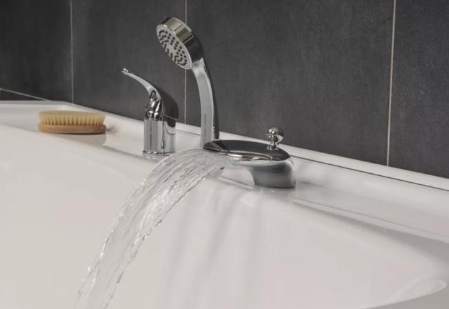 Смеситель с душем на ванну врезной купить в спб караута мебель для ванны